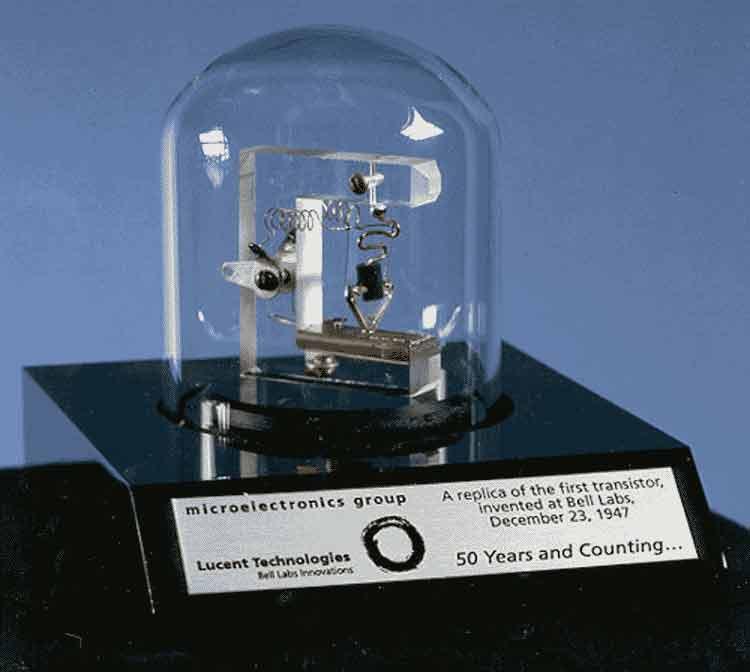 اولین ترانزیستور جهان